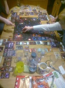 Die Serenity im Einsatz, das Glühwürmchen legt sich mal wieder mit der Allianz an und natürlich mit dabei - die Crew vom Spieletreff.